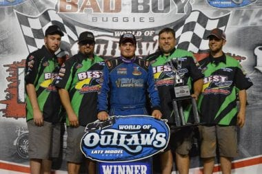 Brandon Sheppard Takes World Finals Night 1 Win Dirt Track at Charlotte