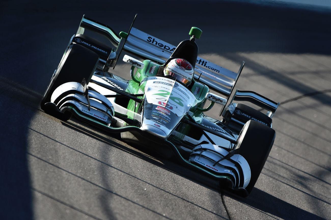CARLOS MUÑOZ RETURNS ANDRETTI AUTOSPORT FOR 2016 INDYCAR SEASON