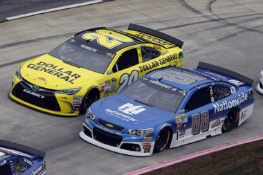 Dale Jr on Matt Kenseth At Martinsville Speedway - Dont Wreck Matt