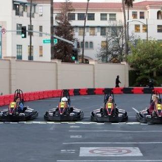 Danica Patrick Races Go Karts on Ellen Degeneres Show Photos