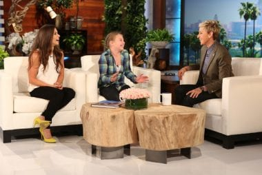Danica Patrick on Ellen Degeneres Show Photos