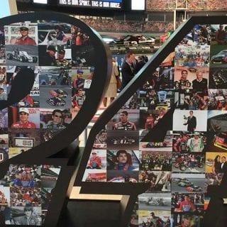 Jeff Gordon NASCAR Hall of Fame Exhibit 24 Photos
