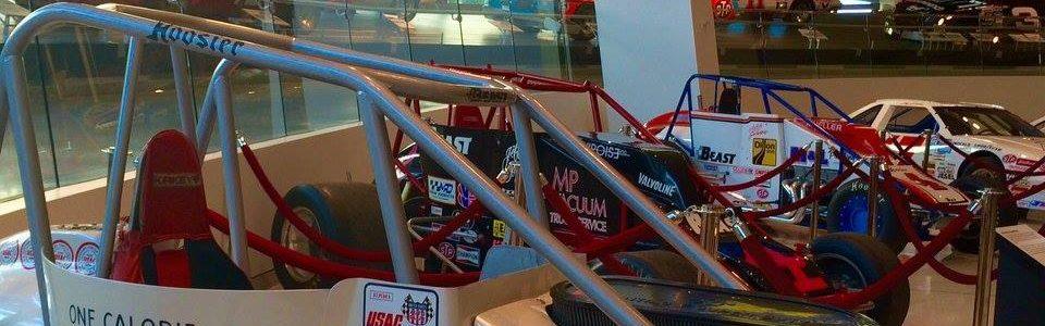 Jeff Gordon NASCAR Hall of Fame Exhibit