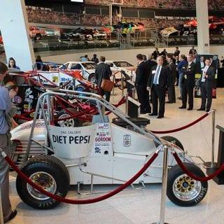 Jeff Gordon NASCAR Hall of Fame Exhibit Open Wheel Cars