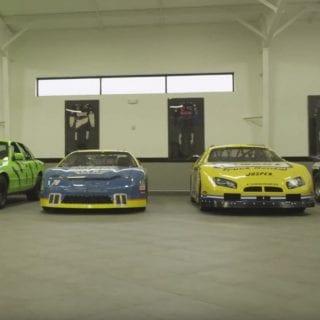 Kurt Busch House and Garage of NASCAR racing driver