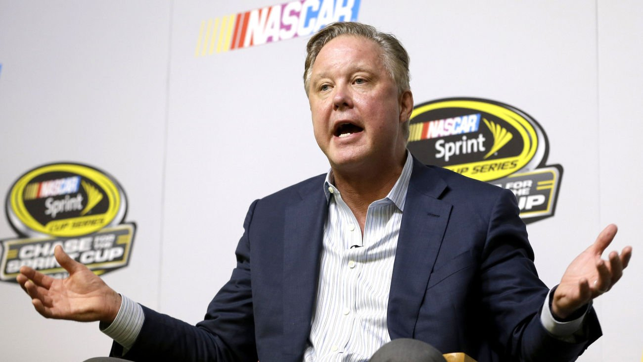 NASCAR CEO Brian France Speaks on State of the Sport and Where the Line is