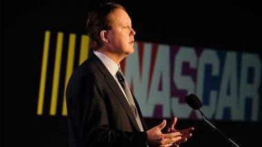 NASCAR CEO Brian France on Matt Kenseth At Martinsville