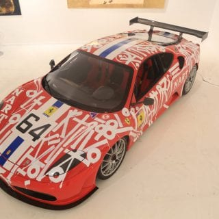 2007 Ferrari Art Car F430 RETNA Art Car Photo