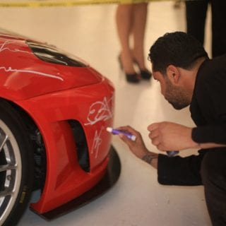 2007 Ferrari F430 RETNA Art Car Photo