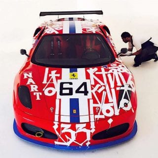 2007 Ferrari F430 RETNA Art Car Photos