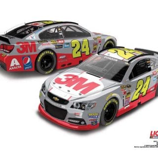 2015 Most Popular NASCAR Diecast Cars - Jeff Gordon 3M Diecast