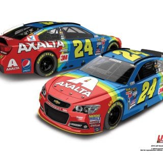 2015 Most Popular NASCAR Diecast Cars - Jeff Gordon Axalta Rainbow Diecast