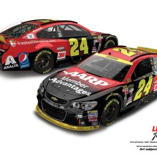 2015 Most Popular NASCAR Diecast Cars - Jeff Gordon Martinsville Win Diecast