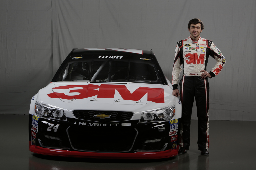 2016 Chase Elliott 3m Car Released Racing News