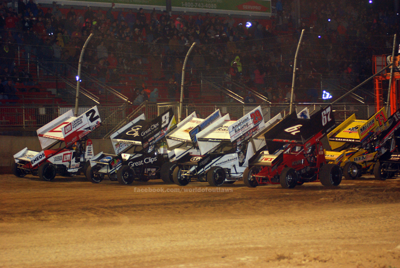 2016 World of Outlaws Sprint Car Series Schedule Released