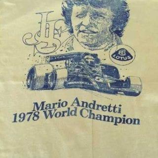 Amy Reimann 1978 Mario Andretti F1 Lotus Champion shirt