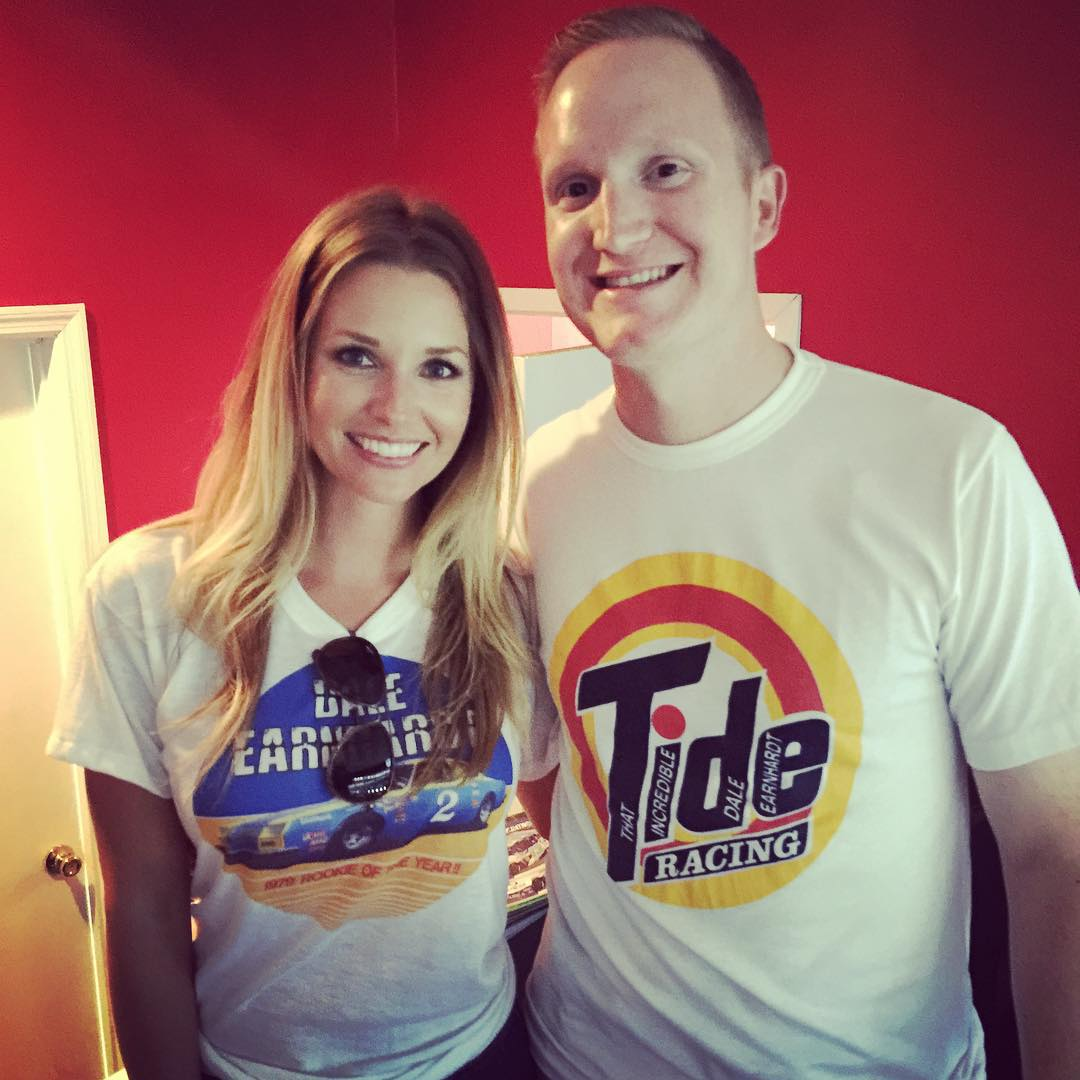 Amy Reimann Wife of Dale Jr Shirt Collection