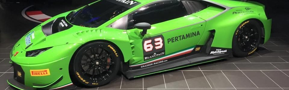 2016 Change Racing Lamborghini Drivers Announced