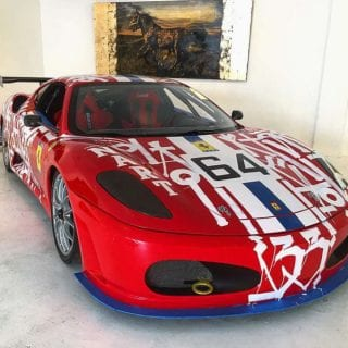 Ferrari Art Car F430 RETNA Art Car Photo
