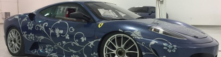 Ferrari F430 Art Car by Edouard Duval-Carrie