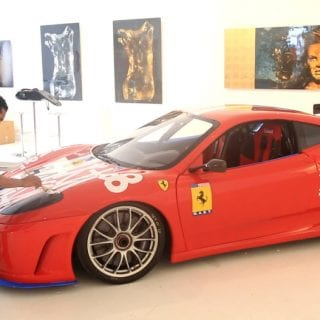 Ferrari Graffiti Car Photos
