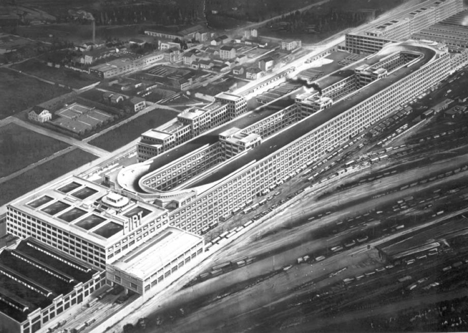 Fiat Factory Lingotto building - rooftop test track