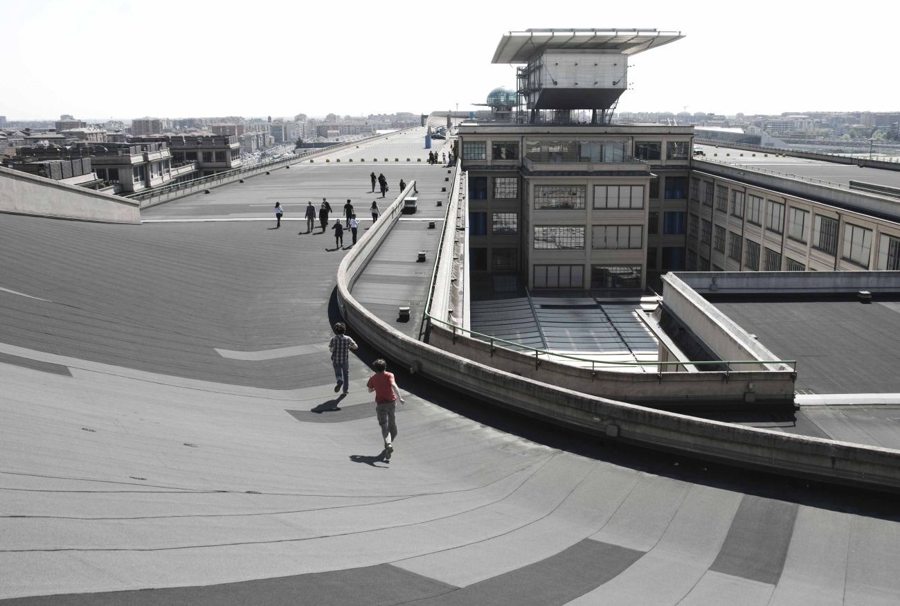 Automotive Factory Rooftop Test Track Racing News