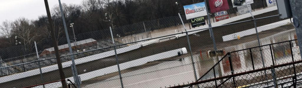 Federated Auto Parts Raceway at I55 Flood Water Photos