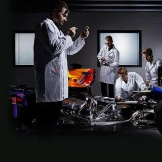 Infiniti Red Bull Racing 2016 Engine TAG Heuer Branded