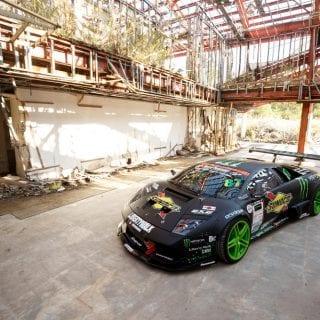 Lamborghini Drift Photos
