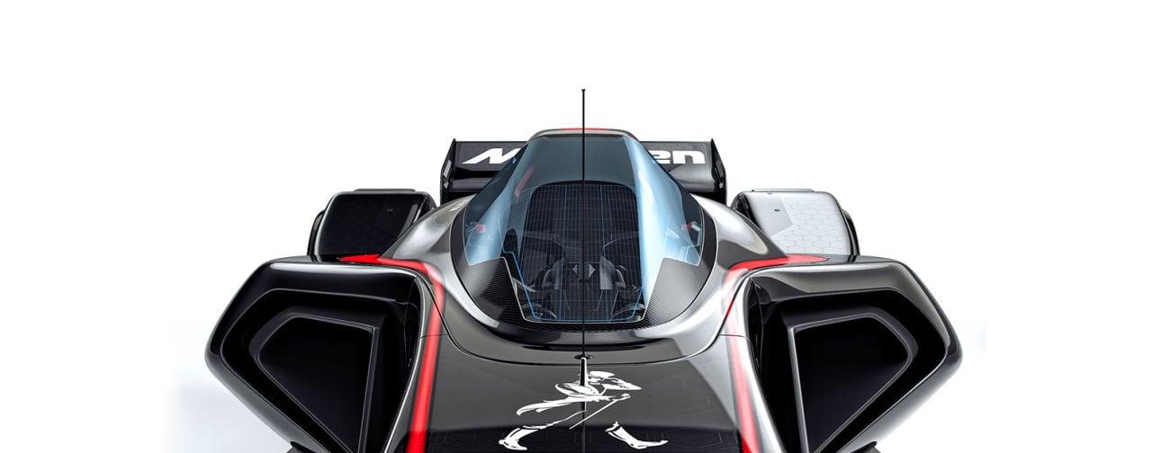 McLaren MP4-X Cockpit Photos
