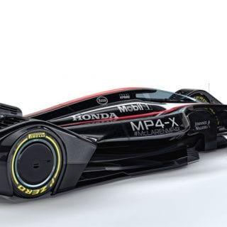 McLaren MP4-X Design Photos