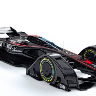 McLaren MP4-X Photos
