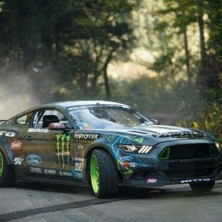Monster Energy Ford Mustang Drift Car