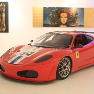 NART Ferrari Art Car