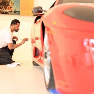 Retna Art Ferrari