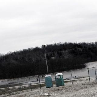 SLKA Karting Track Flood Water Photos - 2778
