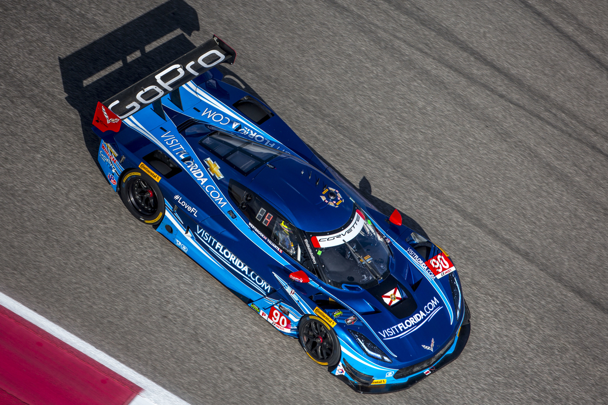 Visit Florida Racing Ryan Hunter-Reay IMSA Endurance Series