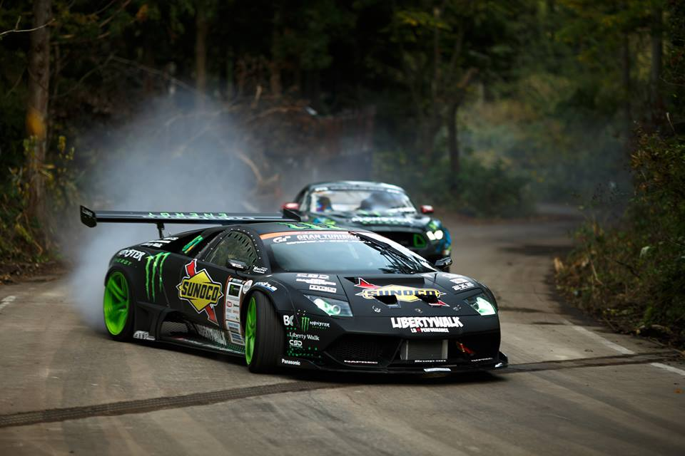 World S First Lamborghini Drift Car Racing News