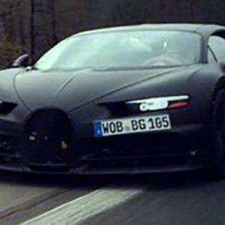 2016 Bugatti Chiron Spy Photography