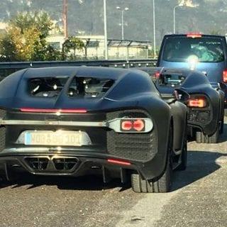 2016 Bugatti Chiron Spy Photos