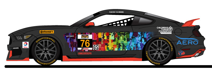 2016 Compass360 Racing Ford Mustang Livery Released