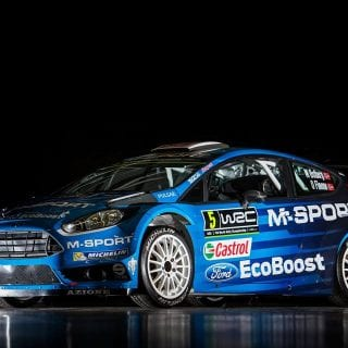 2016 M-Sport Rally Car Photos 2016 Ford Fiesta RS Rally Car