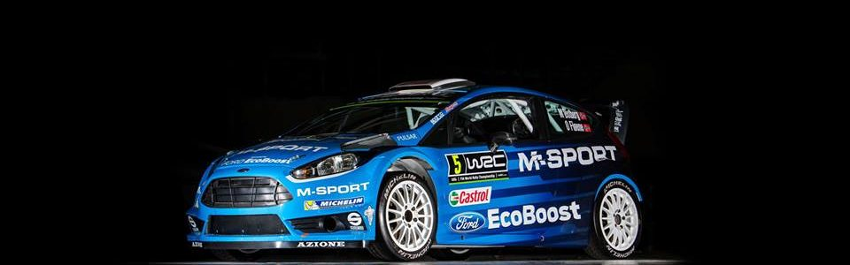 2016 M-Sport Rally Car Livery Released