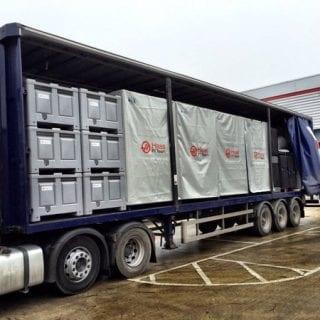 Haas F1 Shipping Cargo
