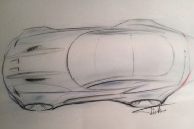 Henrik Fisker Suing Aston Martin over design the force 1 sketch