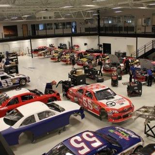 Inside Michael Waltrip Racing Shop For Sale