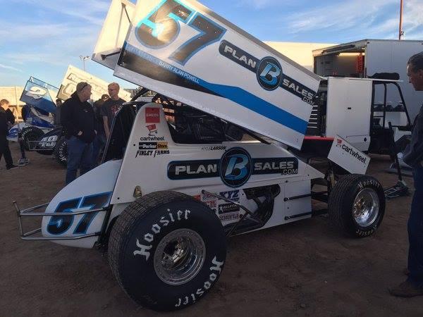 Kyle Larson Wins Cocopah Speedway