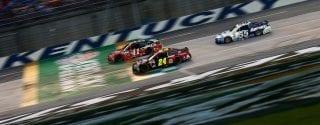 New Kentucky Speedway Repaving - Increased Banking