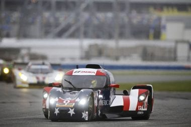 Panoz DeltaWing Fastest For First Time in IMSA at Daytona Int Speedway